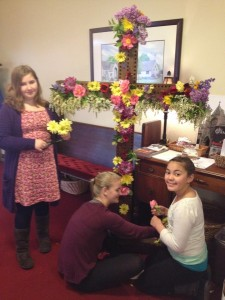 Easter Day 2015 - Flowering the Cross