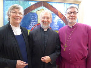 Dcn Peggy, Fr Bob, Bishop Hanley